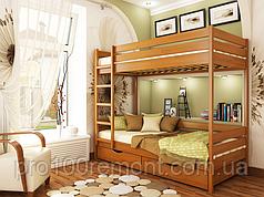 Деревянная двухэтажная кровать Дуэт от ТМ Эстелла