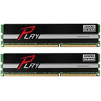Модуль памяти для компьютера DDR4 16GB (2x8GB) 2400 MHz Play Black GOODRAM (GY2400D464L15S/16GDC)