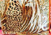 Леопардовое постельное белье 100% хлопок Бязь полуторное хит продаж