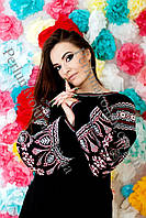 Платье женское с вышивкой СЖ 0602-19
