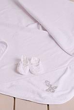 Крестильный набор рубашка для мальчика р.62-74, фото 3