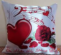 Подушка Серце  (33х33см)