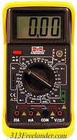 Мультиметр универсальный UNI-T M890G, цифровой тестер мультиметр