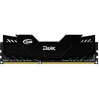 Модуль памяти для компьютера DDR3 8GB 1600 MHz Dark Series Black Team (TDKED38G1600HC10A01)