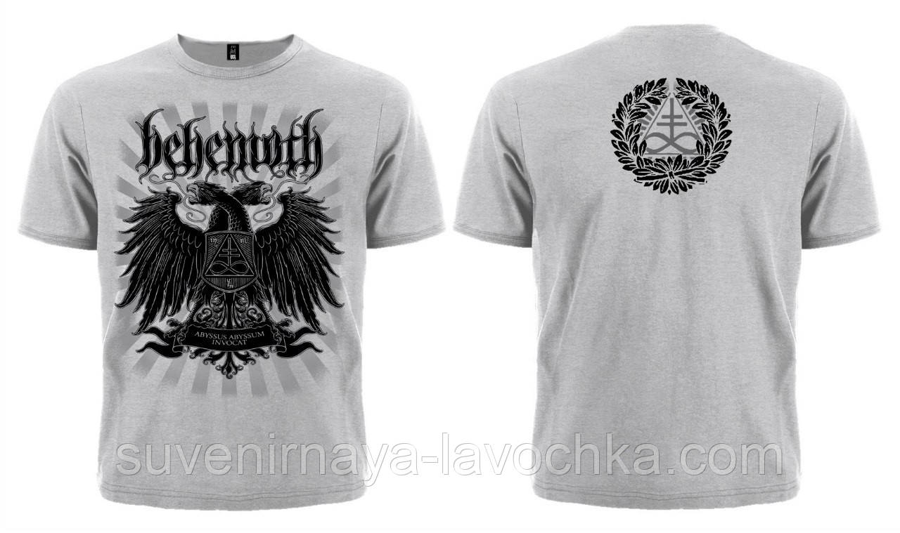 "Рок футболка Behemoth ""Abyssus Abyssum Invocat"" (меланж)"