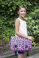 Сумка мессенджер Wildkin Pink Leopard Jumpstart Messenger Bag из США
