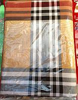 Двуспальный постельный комплект клетка 100% хлопок Бязь хит продаж
