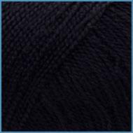 Пряжа для вязания Valencia Arabella(Валенсия Арабелла), 040 (Black) цвет, 90% премиум акрил, 10% шелк