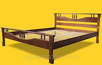 Кровать из натурального дерева Тис Гармония