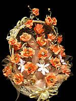 Букет из конфет Шелковая роза