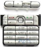 Клавиатура (кнопки) Nokia 3250 Silver