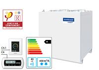 Domekt-CF-400-V-HW/DH вентиляционная установка с высокоэффективным пластинчатым теплоутилизатором