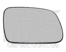 Вкладыш зеркала левый с обогревом асферич 307 2005-07