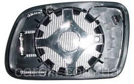 Вкладыш зеркала левый с обогревом выпуклый голубое 307 2005-07