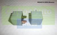 Реле 4 контактное ПТФ и обогрева заднего стекла Ланос, Авео, Матиз  GM Корея   94580702