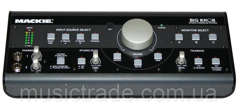 Мониторинг контроллер Mackie Big Knob