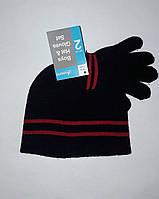 Шапка детская для мальчика с перчатками Accessories