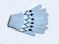 Вязанные перчатки детские