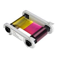 Полупанельная полноцветная лента Evolis R5H004NAA Half-panel YMCKO  (400 отпечатков — принтер Zenius, Primacy)