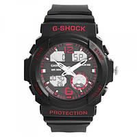 Часы наручные G-SHOCK GA-310 Black-Red