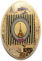 Ключница вешалка из дерева Париж