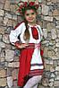 Сукня вишиванка з довгим рукавом для дівчинки.