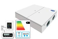 Domekt-CF-500-F-HW/DH вентиляционная установка с высокоэффективным пластинчатым теплоутилизатором