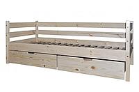 Кровать одноярусная из сосны