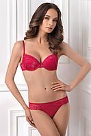 Комплект кружевного красного белья DARA 1151/92 MARIELLE 2124/92 Jasmine Lingerie