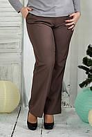 Женские брюки классического кроя больших размеров МИРТА