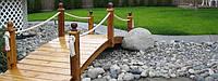 Декоративные мостики для ландшафтного дизайна и садового декора