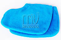Носочки махровые для парафинотерапии, пара голубые