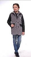 Молодежное весеннее пальто для девочки 12450