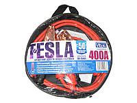 Провода прикуривателя 400 А 2,5м в чехле Tesla(-50°С)
