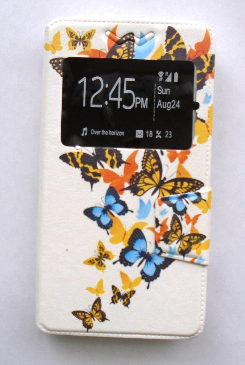 """Чехол Чехол-книжка универсальный 5"""" Butterfly"""