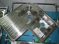 Мойка кухонная угловая из нержавеющей стали Franke STX 621-E
