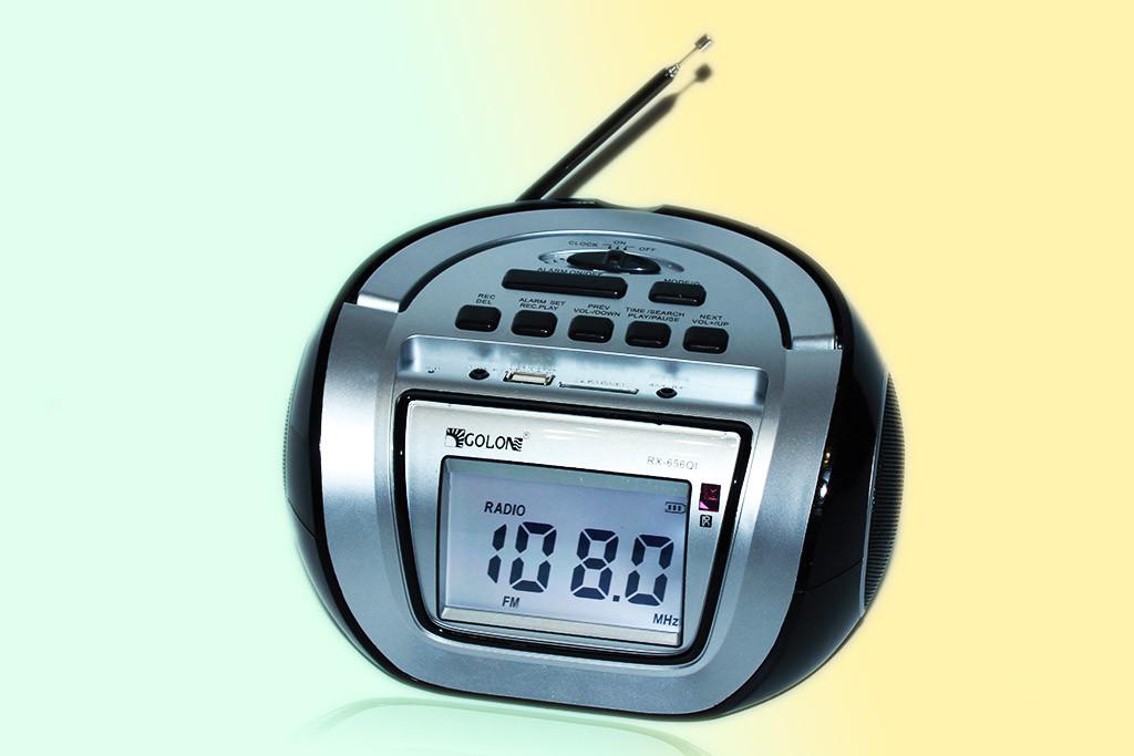 """Колонка Бум-Бокс Golon RX-656Q+караоке+часы+буд. - Интернет-магазин """"У Игоря"""" в Виннице"""
