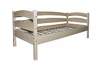 Кровать одноярусна - люкс из сосны