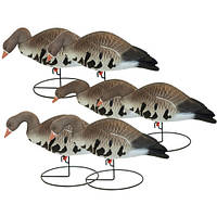"Чучела гусей ""Hard Core Full-Body Specklebelly Goose Decoys"", 6 шт"