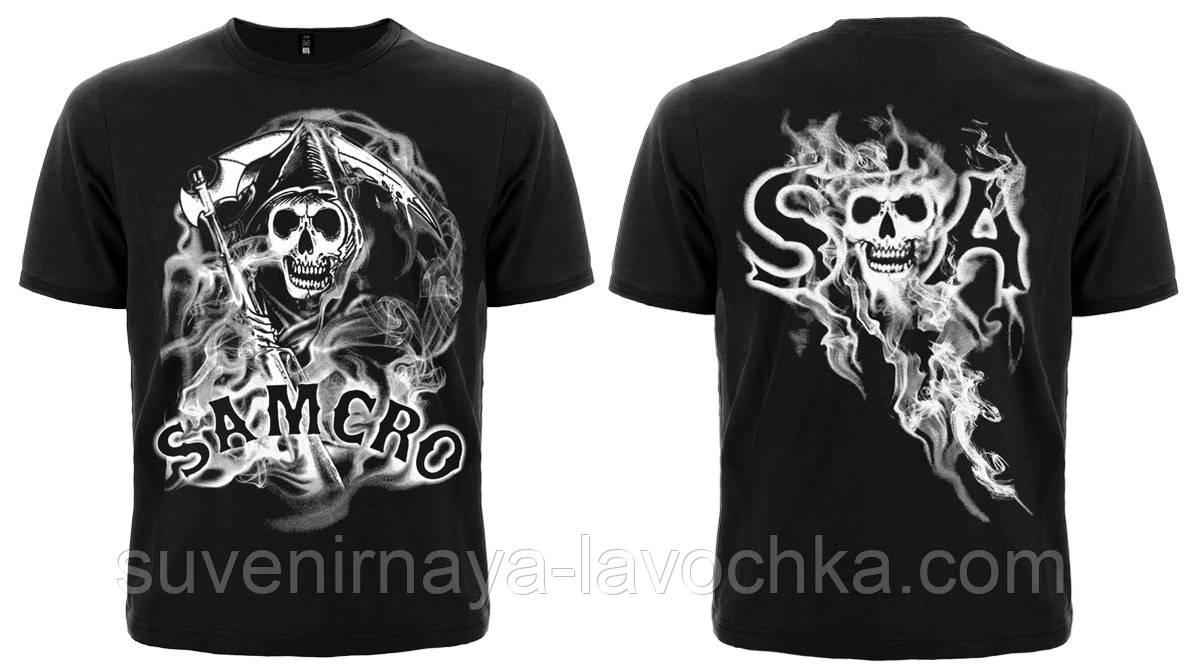 Футболка Sons Of Anarchy (smoke)
