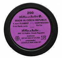 Патрон Флобера Sellier & Bellot Randz Curte кал. 4 mm short пуля - свинцовый шарик плакированный медью, фото 1