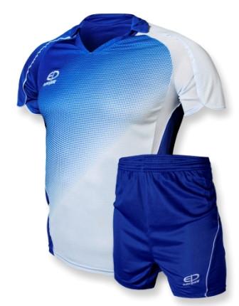 Футбольная форма Europaw 007-17 сине-белая