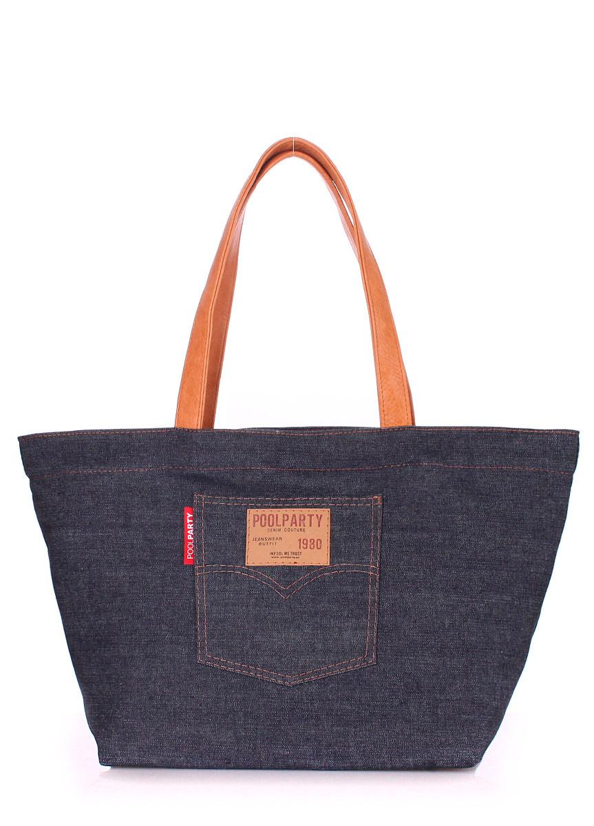 Женская джинсовая сумка POOLPARTY