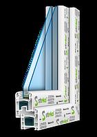 3-камерная профильная система Steko R 300  (Европа)