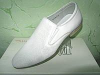 Мужские летние туфли MEGAPOLIS из натуральной кожи