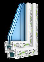 5-камерная профильная система Steko R 500  (Европа)