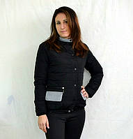 Черная куртка женская весенняя