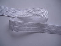Стрейчевая бейка  белая 12мм