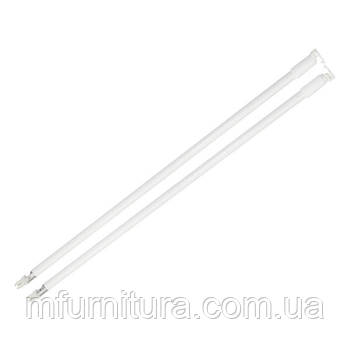 Релинг для метабокса 500 мм / белый