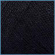 Пряжа для вязания Valencia Arabica(Валенсия Арабика), 620 (Black) цвет, 14% вискоза, 86% премиум акрил
